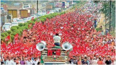 किसानों ने महाराष्ट्र सरकार के खिलाफ एक बार फिर खोला मोर्चा, नासिक से मुंबई तक लॉन्ग मार्च निकालेंगे 50 हजार किसान