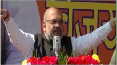अमित शाह ने जम्मू में किया कार्यकर्ताओं को संबोधित, कहा- जहां हुए बलिदान मुखर्जी, वो कश्मीर हमारा है, देखें Video