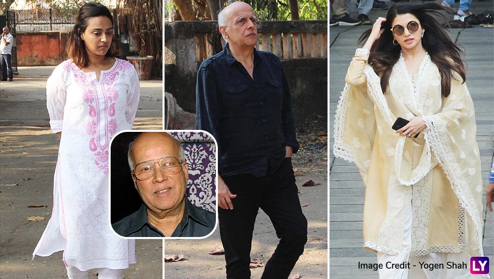 In Pics: मशहूर फिल्म निर्माता राजकुमार बड़जात्या की अंतिम यात्रा में गमगीन हुआ बॉलीवुड, इन सेलेब्स ने दी श्रद्धांजलि