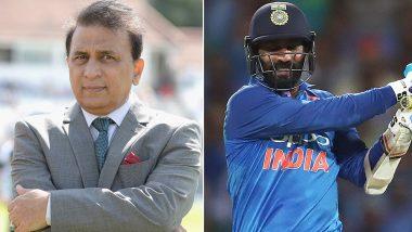 India vs Australia ODI Series 2019: ऑस्ट्रेलिया के खिलाफ वनडे सीरीज से दिनेश कार्तिक को बाहर करने पर भड़कें सुनील गावस्कर, बनाई खुद की टीम