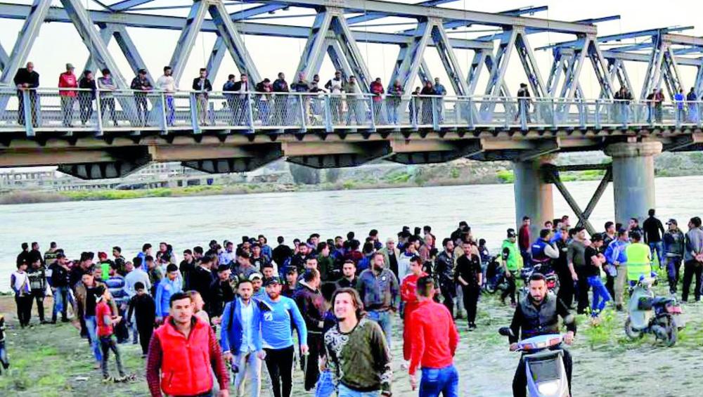 इराक में मोसुल के नजदीक टिगरिस नदी में नाव डूबने से 100 लोगों की मौत
