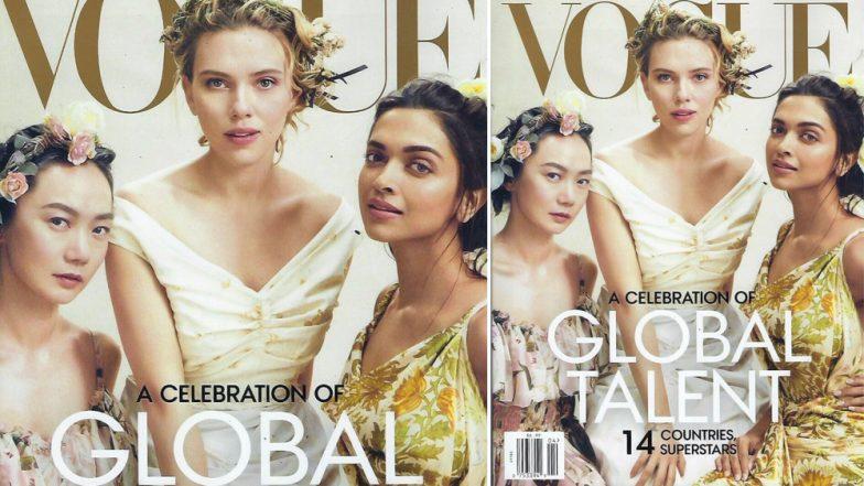 Vogue मैगजीन के कवर पर एवेंजर्स की एक्ट्रेस संग नजर आईं दीपिका पादुकोण, देखें ये बेहद खूबसूरत तस्वीर