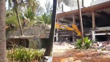 PNB घोटाला: भगोड़े नीरव मोदी पर फिर चला सरकारी चाबुक, तोड़ा जा रहा है करोड़ों का आलीशान बंगला