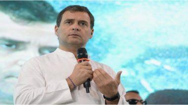 लोकसभा चुनाव 2019: राहुल गांधी ने बीजेपी के घोषणापत्र पर किया प्रहार, कहा- इनके मैनिफेस्टो में दूरदर्शिता का अभाव