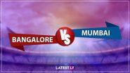 RCB vs MI 10th IPL Match 2020: रॉयल चैलेंजर्स बैंगलौर की तूफानी बल्लेबाजी, मुंबई इंडियंस को जीत के लिए चाहिए 202 रन