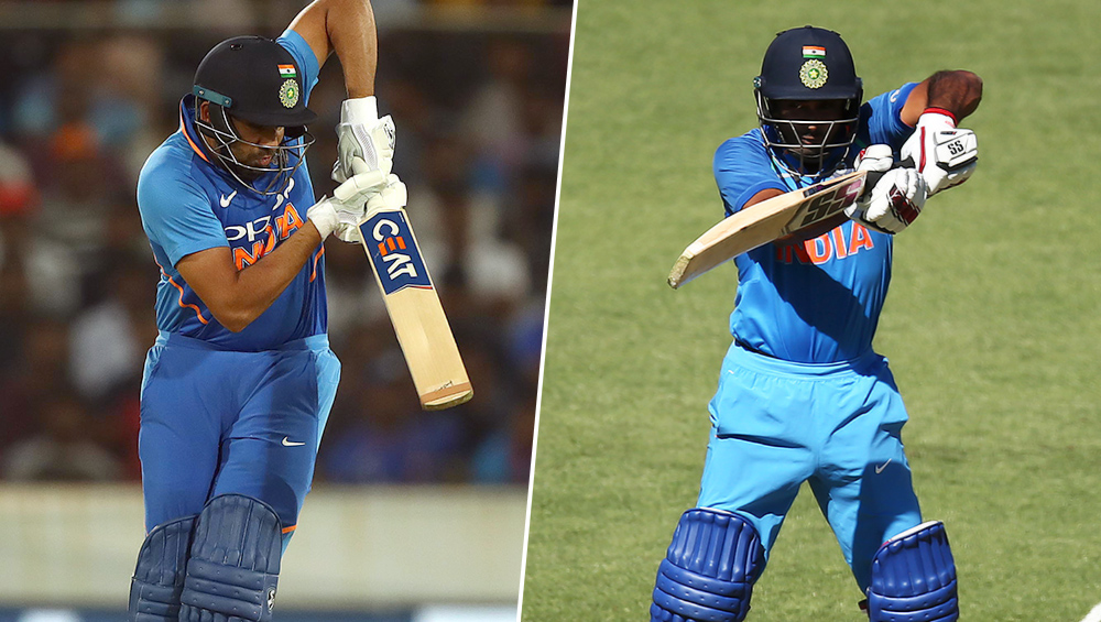 India vs Australia 3rd ODI 2019: फिर फ्लॉप हुए रायडू-धवन, रोहित शर्मा भी नही कर सके कमाल, अब कोहली पर दारोमदार