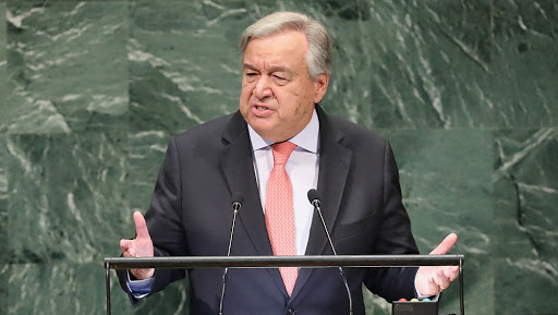 संयुक्त राष्ट्र प्रमुख एंतोनियो गुतारेस ने कहा- कश्मीर मुद्दे के समाधान के लिए भारत-पाक वार्ता सबसे जरूरी