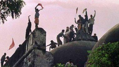 उत्तर प्रदेश: अयोध्या में बाबरी ढांचा विध्वंस की बरसी पर 6 दिसंबर को अलर्ट जारी, संवेदनशील जगहों पर बढ़ाई गई सुरक्षा