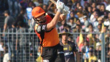 IPL 2019: दिल्ली कैपिटल्स के खिलाफ शानदार बल्लेबाजी के लिए जॉनी बेयरस्टो को मिला 'मैन ऑफ द मैच' अवार्ड