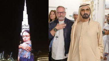 Christchurch Attack: दुबई ने न्यूजीलैंड प्रधानमंत्री जैसिंडा अर्डर्न को शुक्रिया अदा करने के लिए बुर्ज खलीफा पर दिखाई उनकी तस्वीर