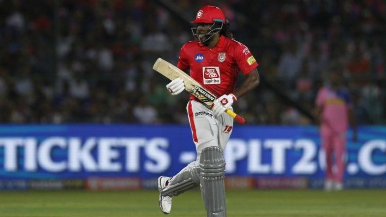IPL 2019: क्रिस गेल की अर्धशतकीय पारी के बदौलत पंजाब ने दिल्ली को दिया 164 रन का लक्ष्य
