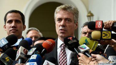 वेनेजुएला ने जर्मनी के राजदूत को 48 घंटों के अंदर देश छोड़ने का दिया आदेश