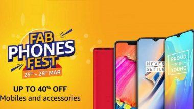 Amazon Sale: अमेजन ने शुरू की स्मार्टफोन की सेल, इन फोन पर मिल रही हैं भारी छुट