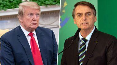 अमेरिका: प्रेसिडेंट ट्रंप ब्राजील के राष्ट्रपति जेयर बोल्सोनारो से 19 मार्च को करेंगे मुलाकात