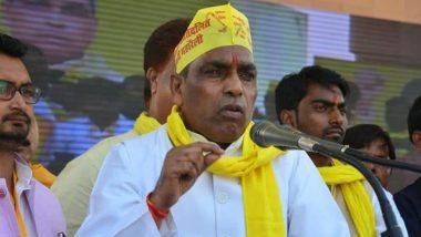 लोकसभा चुनाव 2019 : ओमप्रकाश राजभर ने किया मतदान, कहा- पूर्वाचल में एसपी-पीएसपी गठबंधन को मिलेगी भारी जीत