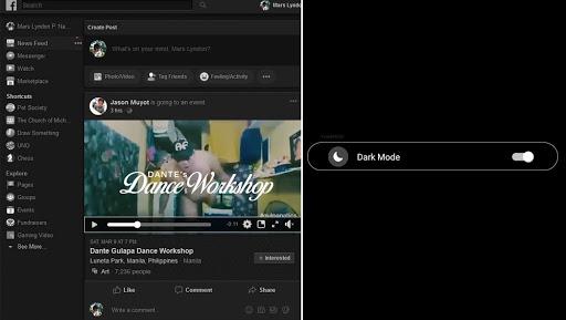 एंड्रॉएड और IOS डिवाइसेज पर फेसबुक मैसेंजर का 'डार्क मोड' सक्रिय