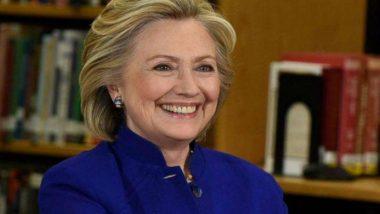 अमेरिका: हिलेरी क्लिंटन नहीं लड़ेंगी 2020 का राष्ट्रपति चुनाव