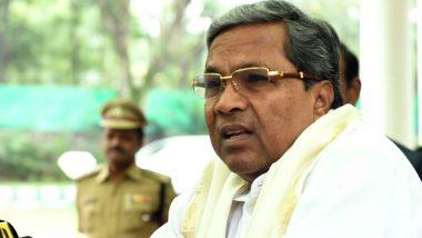 कांग्रेस नेता सिद्धारमैया का बड़ा हमला, कहा-कर्नाटक में BJP की सरकार बनना 'खरीद-फरोख्त की जीत'