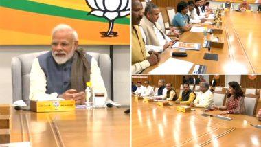 लोकसभा चुनाव 2019: दिल्ली में बीजेपी की अहम बैठक जारी, उम्मीदवारों के नामों पर मंथन