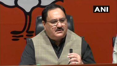 जेपी नड्डा को मिली बीजेपी की कमान, निर्विरोध बने पार्टी के राष्ट्रीय अध्यक्ष