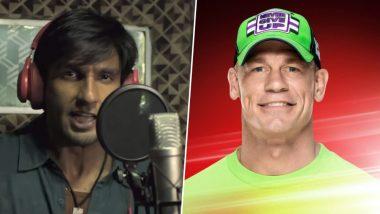 रणवीर सिंह के दीवाने हुए WWE सुपरस्टार जॉन सीना, सोशल मीडिया पर कहा- अपना टाइम आएगा