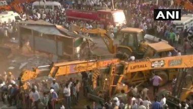कर्नाटक: धारवाड़ में निर्माणाधीन इमारत गिरी; 5 की मौत; मलबे से निकाले गए 55 लोग