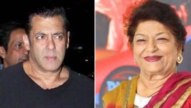 सरोज खान की मदद के लिए आगे आए सलमान खान, फिल्म इंडस्ट्री में नहीं मिल रहा था काम