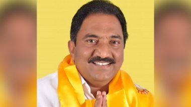 तेलुगू देशम पार्टी के विधायक सानद्रा वेंकट वीरैया ने TRS में शामिल होने का किया फैसला