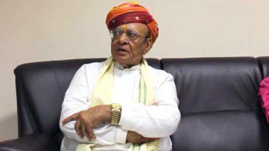 गुजरात: पूर्व सीएम शंकर सिंह वाघेला के घर पर हुई 5 लाख की चोरी, चौकीदार पर शक