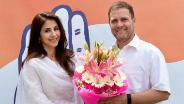 अभिनेत्री उर्मिला मातोंडकर ने छोड़ा कांग्रेस का हाथ, पार्टी के भीतर गुटबाजी का लगाया आरोप