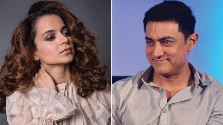 कंगना रनौत ने आमिर खान पर साधा था निशाना, अब मिस्टर परफेक्शनिस्ट ने दिया यह जवाब