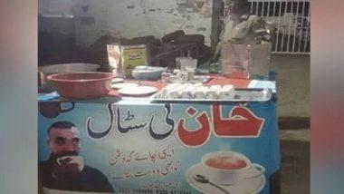 पाकिस्तानी भी हुए विंग कमांडर अभिनंदन मुरीद, चाय की दुकान में लगाया फोटो
