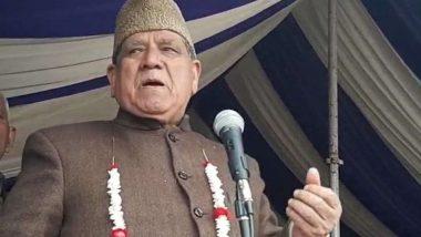 नेशनल कॉन्फ्रेंस नेता अकबर लोन का विवादित बयान, कहा- जो पाकिस्तान को एक गाली देगा मैं उसे 10 गालियां दूंगा