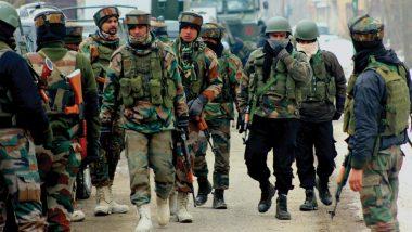 जम्मू कश्मीर: पुलवामा में सुरक्षाबलों ने 2 आतंकियों को किया ढेर, हिज्बुल के डिप्टी चीफ सैफुल्ला को भी घेरा