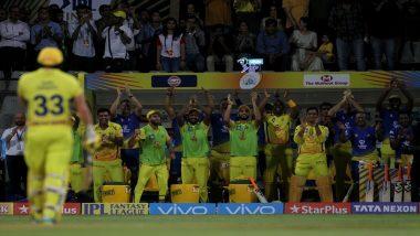 आईपीएल 2019: चेन्नई सुपर किंग्स की शानदार बल्लेबाजी, CSK जीत से महज कुछ रन दूर, देखें स्कोर