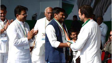 हार्दिक पटेल कांग्रेस में हुए शामिल, राहुल गांधी को सराहा तो पीएम मोदी पर निशाना साधा