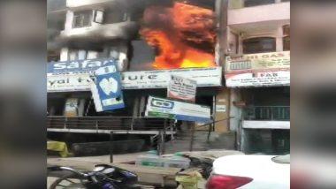 दिल्ली: शाहीन बाग इलाके में पांच मंजिला इमारत में लगी आग, 2 बच्चों की मौत
