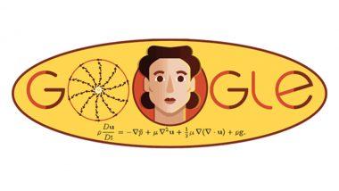 Google ने डूडल बनाकर रुसी गणितज्ञ ओल्गा लैडिजेनस्कायाकी की मनाई 97वीं जयंती