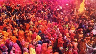 Happy Holi 2020: आज से शुरू हो रही है बृज की पारंपरिक होली, पढ़े पूरा शेड्यूल