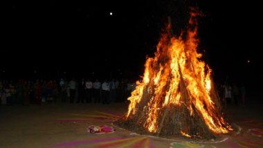 किसानों ने 'होलिका दहन' में जलाईं कृषि कानूनों की प्रतियां, राकेश टिकैत बोले- आंदोलन जारी रहेगा