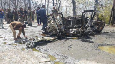जम्मू-श्रीनगर हाइवे पर कार में विस्फोट, क्या निशाने पर था सीआरपीएफ काफिला? जांच शुरू