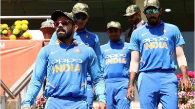 भारतीय खिलाडियों को आर्मी कैप पहनने पर पाकिस्तान ने जताया विरोध, कहा- ICC करे कार्रवाई