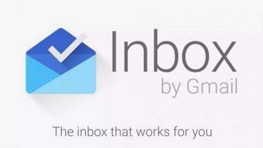 Google की मेलिंग ऐप 'Inbox' 2 अप्रैल से हो जाएगी बंद, कंपनी ने यूजर्स को भेजा नोटिफिकेशन