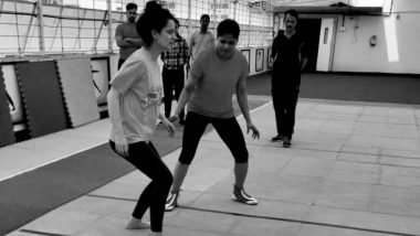 कंगना रनौत खेल रही हैं कबड्डी, फिल्म 'पंगा' के लिए कर रही हैं कड़ी मेहनत, देखें तस्वीरें