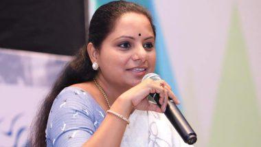 तेलंगाना: सीएम केसीआर की बेटी के खिलाफ 250 नाराज किसानों ने दाखिल किया पर्चा