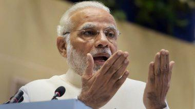 लोकसभा चुनाव 2019: प्रधानमंत्री नरेंद्र मोदी ने कांग्रेस पर कसा तंज, कहा- इन्हें रास नहीं आ रही देश में सुरक्षा की बेहतर स्थिति
