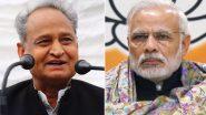 Coronavirus in India: राजस्थान के मुख्यमंत्री ने प्रधानमंत्री को आरटीपीसीआर टेस्ट के इंतजाम की सलाह दी