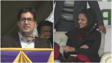 जम्मू-कश्मीर से पहले आईएएस टॉपर शाह फैसल ने किया पार्टी का ऐलान, शहला राशिद हुईं शामिल