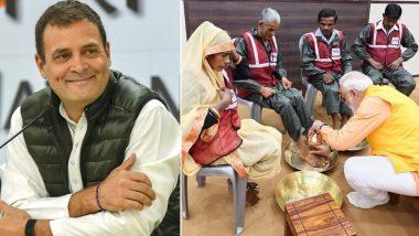 राहुल गांधी का पीएम मोदी पर तंज, कहा- कैमरे के लिए जीते हैं, हर चीज को बना देते हैं इवेंट
