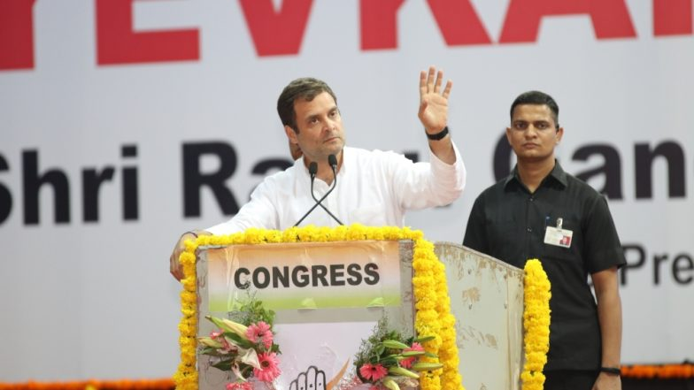 लोकसभा चुनाव 2019: कांग्रेस अध्यक्ष राहुल गांधी ने मतदाताओं से की अपील, कहा- भारत की आत्मा के लिए करें वोट